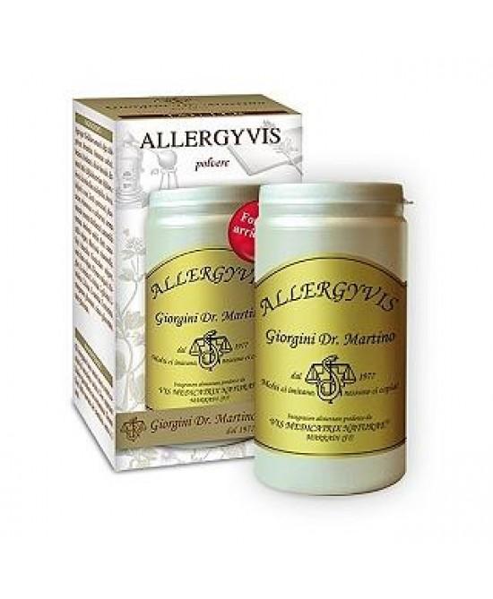 Dr. Giorgini Allergyvis Polvere Integratore Alimentare 100g -