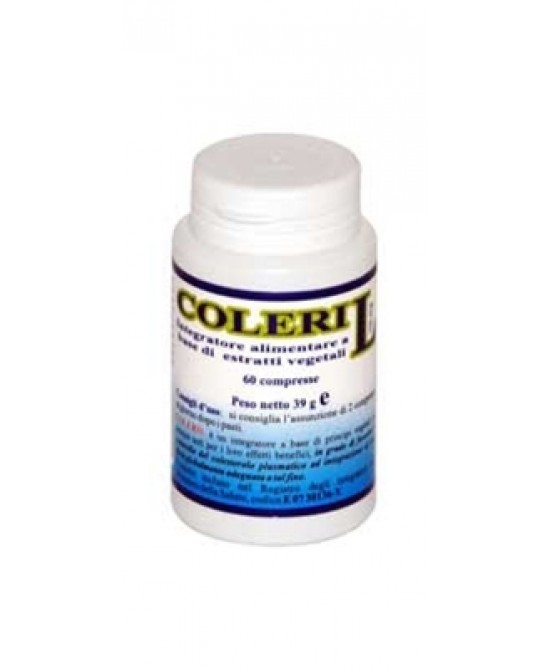 Herboplanet Coleril 5mg Integratore Alimentare 20 Compresse