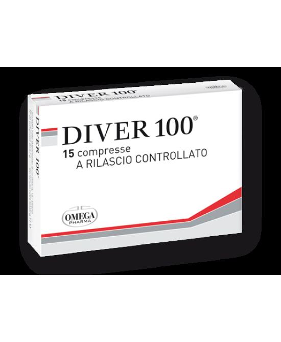 Omega Pharma Diver 100 Integratore Alimentare 15 Compresse - Farmafamily.it