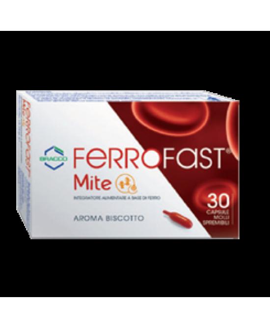 Ferrofast Mite 30 Capsule Molli - Farmastar.it