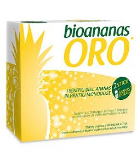 Bioananas Oro 30stick Monodose - Farmabellezza.it