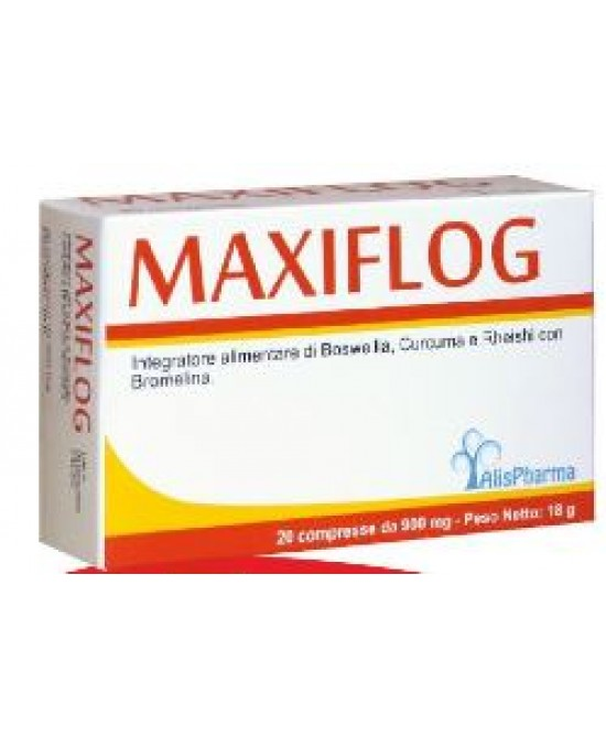 Alispharma Maxiflog Integratore Alimentare 20 Compresse