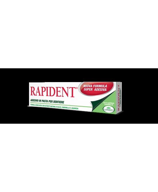 Rapident Pasta Adesiva Per Dentire 40g - FARMAEMPORIO