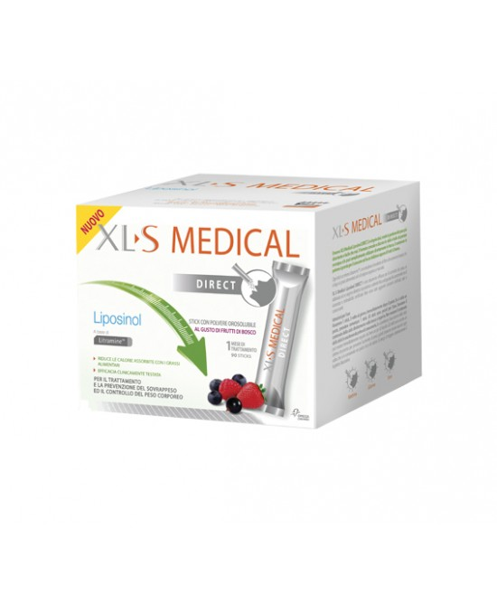 Xl-S Medical Liposinol Direct Integratore Alimentare 90 Stick Orosolubili - Zfarmacia