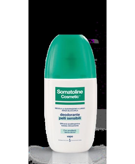Somatoline Cosmetic Deodorante Pelli Sensibili Vapo 75ml - Farmaunclick.it