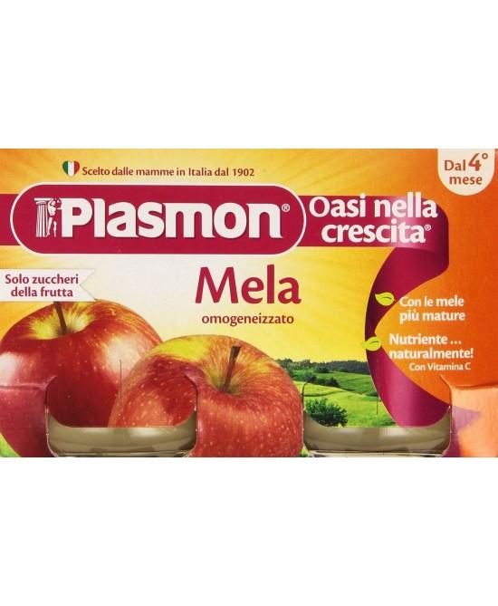 Plasmon Omogeneizzato Mela 2x104g - Farmaciasconti.it