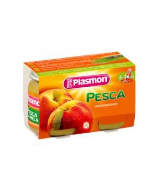 PLASMON OMOGENEIZZATO PESCA 2 X 104 G - Farmacia Centrale Dr. Monteleone Adriano