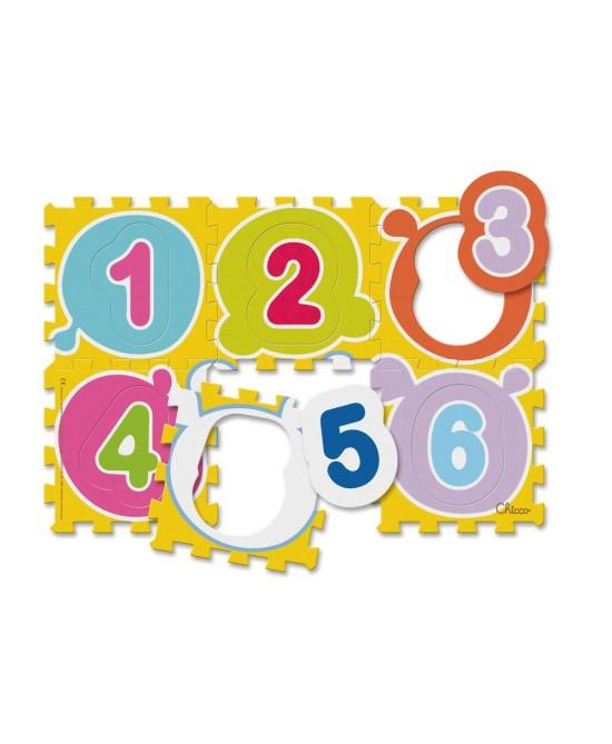 Chicco Tappeto Puzzle Numeri - Speedyfarma.it