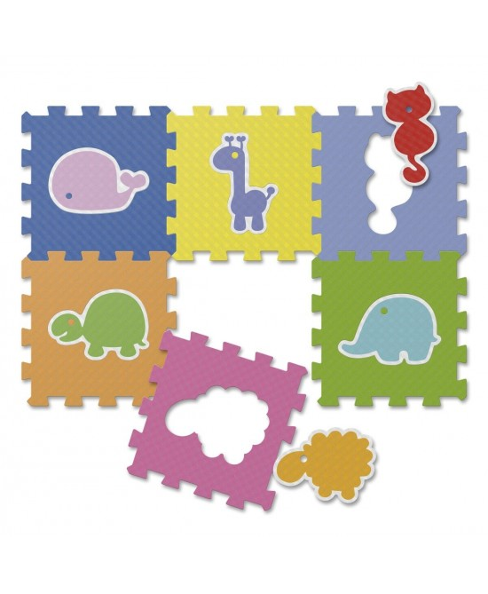 Chicco Gioco Tappeto Puzzle Animali - Farmafamily.it