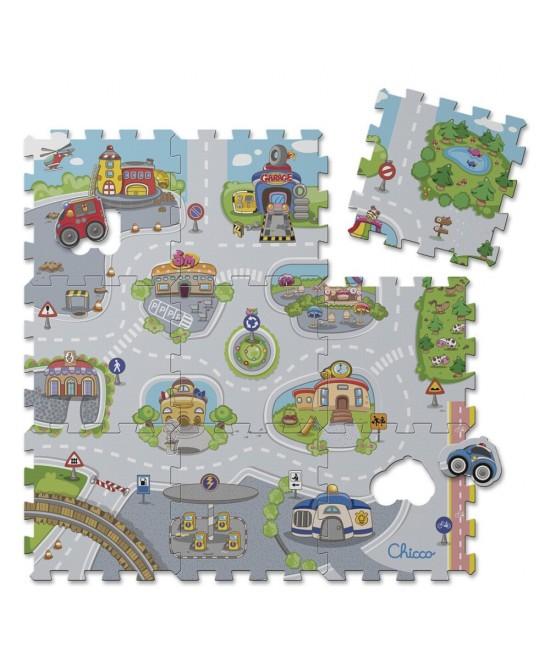 Chicco Giocco Puzzle Città - Farmafamily.it