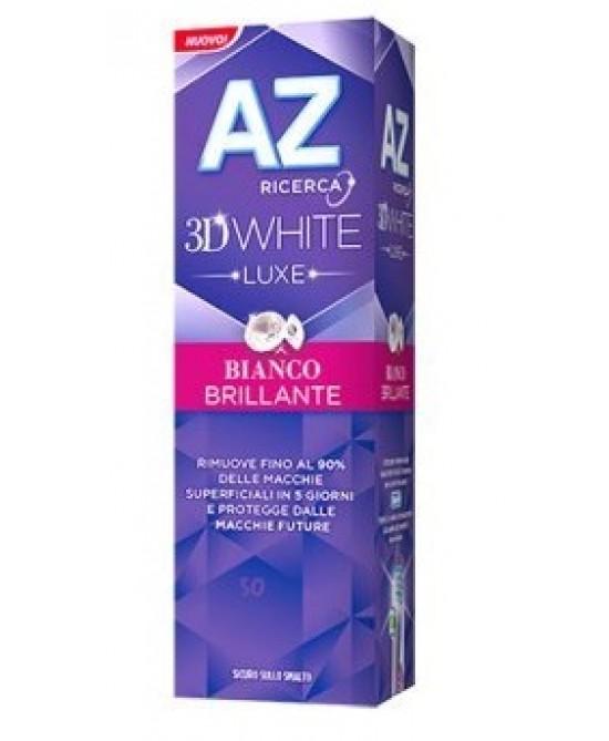 Az Dentifricio 3D White Luxe Bianco Brillante Dentifricio 75ml - Farmacia 33