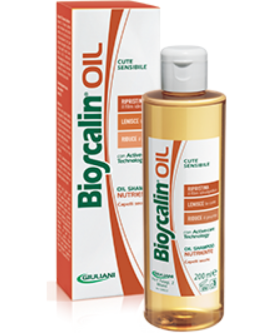 Bioscalin Oil Shampoo Nutriente 200ml - FARMAEMPORIO