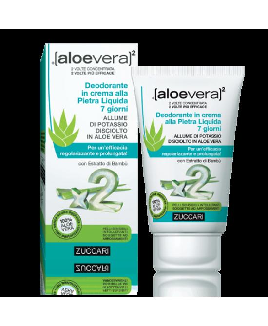 Aloevera2 Deodorante In Crema Pietra Liquida 7 Giorni 30ml - Farmabravo.it