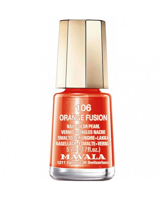 Mavala Mini Color Smalto 106 Orange Fusion 5ml - Speedyfarma.it