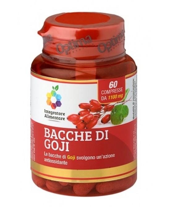 Optima Colours Of Life Bacche di Goji Integratore Antiossidante 60 Compresse