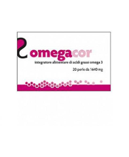 Essecore Omegacor Integratore Alimentare 20 Perle - Farmia.it