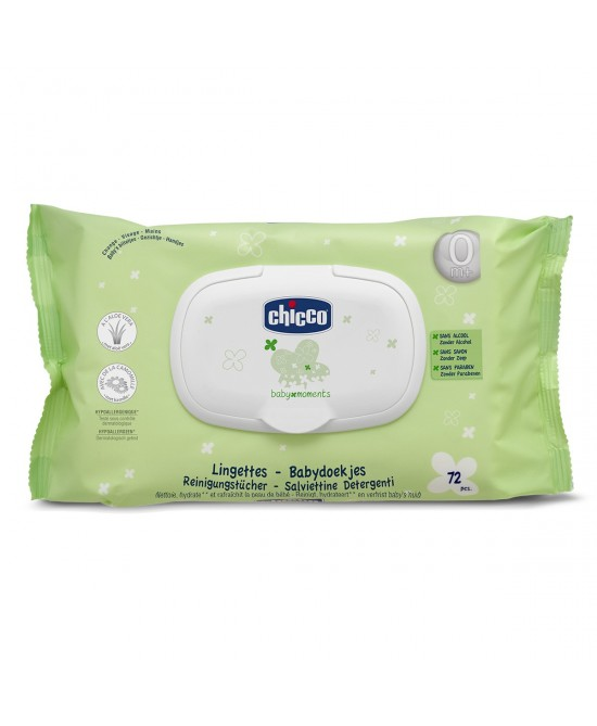 Chicco Baby Moments Salviettine Detergente 72 Pezzi - Sempredisponibile.it