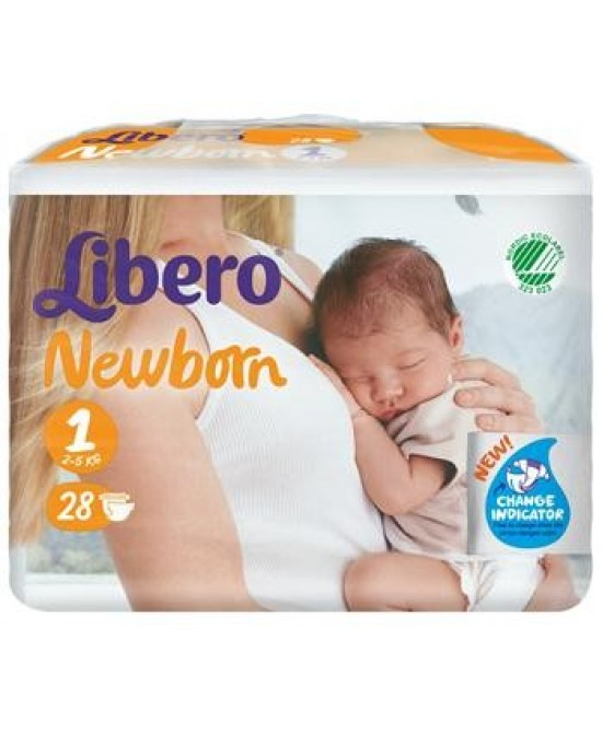 Libero Newborn Pann 1 28pz - Farmacistaclick