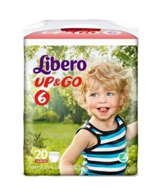 LIBERO UP&GO PANN 6 20PZ prezzi bassi