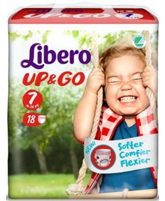 LIBERO UP&GO PANN 7 18PZ prezzi bassi