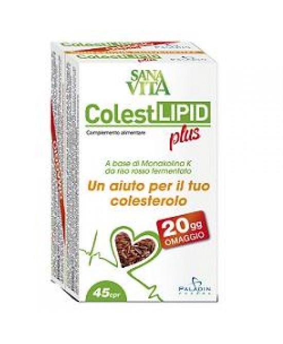 Sanavita Colestlipid Plus 45 compresse - Iltuobenessereonline.it