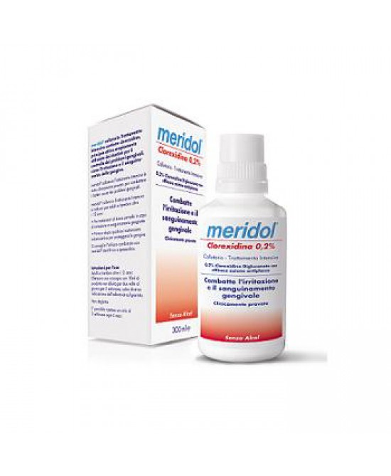 Meridol Clorexidina 0,2% Collutorio 300ml - La farmacia digitale