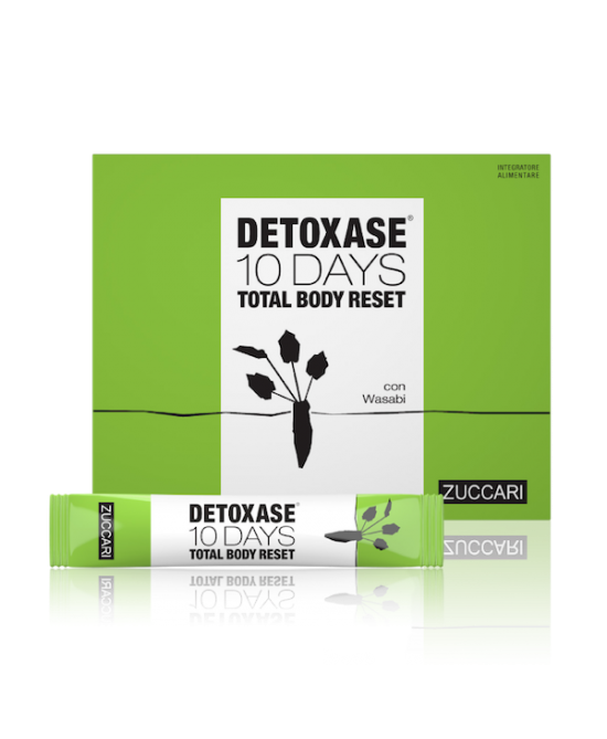 Detoxase 10 Days Total Body Integratore Detossicante 10 Bustine 3 Gr