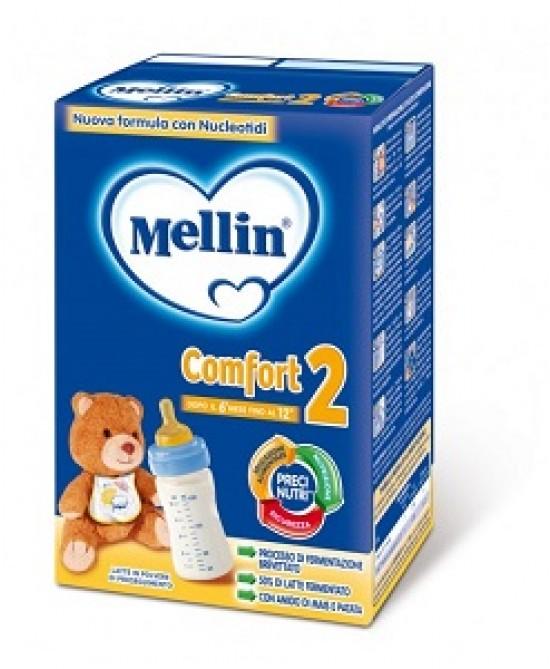Mellin Comfort 2 Latte Di Proseguimento In Polvere 600g