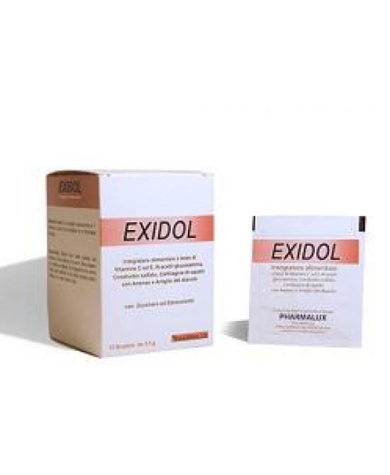 Exidol Plus Integratore Alimentare 15 Bustine