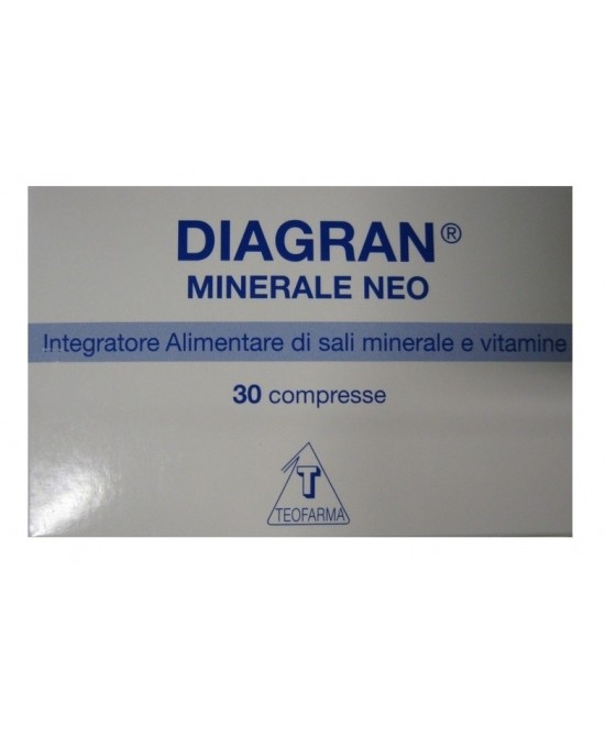 DIAGRAN MINERALE NEO BLISTER 30 COMPRESSE - Farmawing