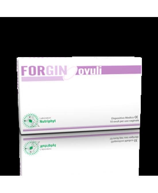 FORGIN 10 OVULI VAGINALI - Farmaseller