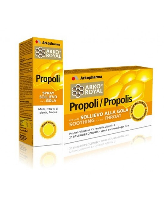 Arkopharma Pack Gola Propoli Spray + Pastiglie - Farmalandia