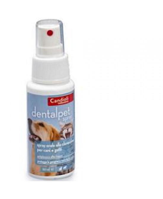 Candioli Dentalpet Spray Orale Cani E Gatti 50 Ml