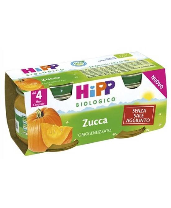 HiPP Biologico Omogeneizzato Zucca 2x80g - Zfarmacia
