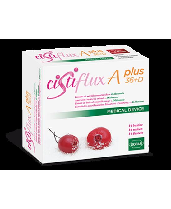 Sofar Cistiflux A Plus 36+D Integratore Alimentare 14 Bustine - Farmacia 33