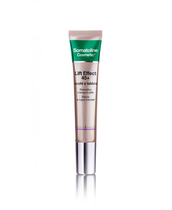 Somatoline Cosmetic Lift Effect 45+ Occhi E Labbra 15ml