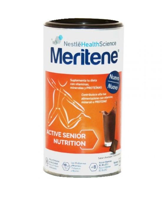 Meritene Protein Gusto Cioccolato Integratore Alimentare 270g - Farmastar.it