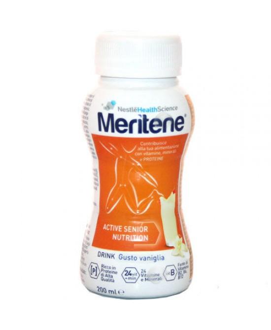 Nestlé Meritene Drink Integratore Alimentare Gusto Vaniglia 200ml - Farmacento