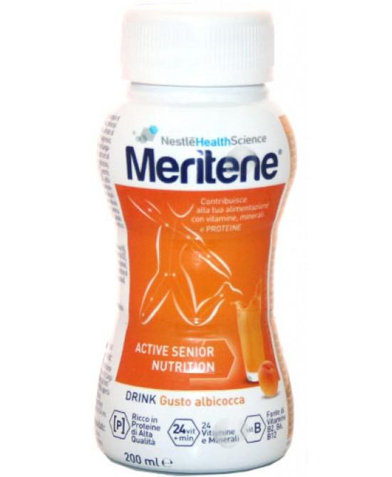 Nestlé Healt Science Meritene Drink Gusto Albicocca Integratore Alimentare 200ml - La farmacia digitale
