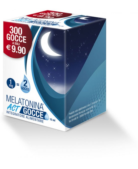 Melatonina Act Gocce Integratore Alimentare 15ml - La farmacia digitale