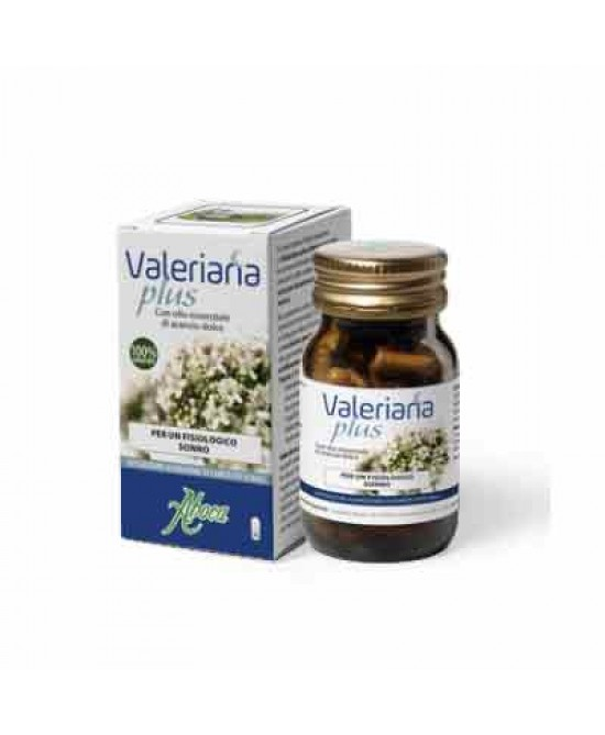 Aboca Valeriana Plus 30 Opercoli Da 500mg - Farmastar.it