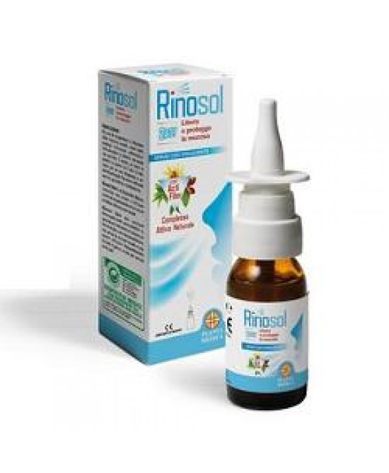 SPRAY NASALE RINOSOL 2ACT 15 ML - Farmawing
