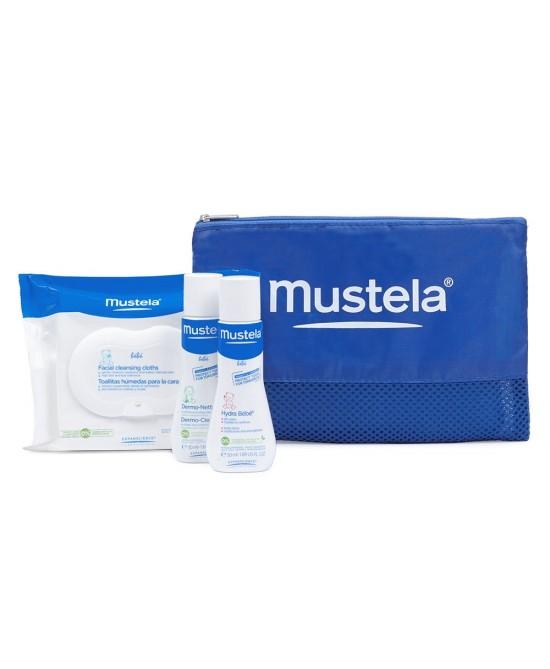 Mustela Travel Set Shampoo - Bagnoschiuma + Hydra Bebè Crema viso - Farmastar.it