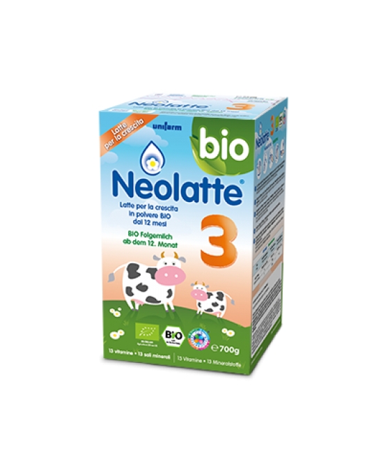 Neolatte 3 Bio Polvere 700g - Farmabros.it