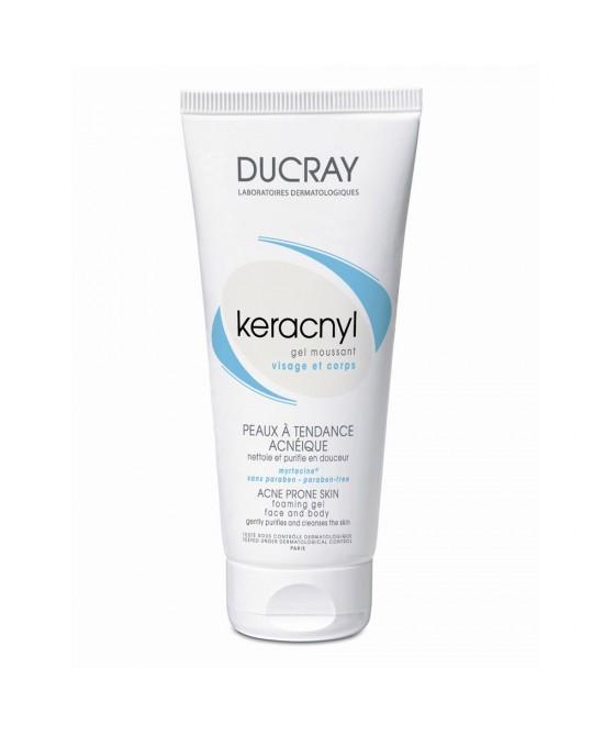Ducray Keracnyl Gel Detergente Purificante Viso 200 ml - La tua farmacia online