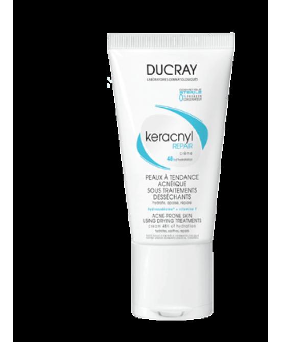 Ducray Keracnyl Repair Crema Viso Pelle Mista e Grassa 50ml - La tua farmacia online