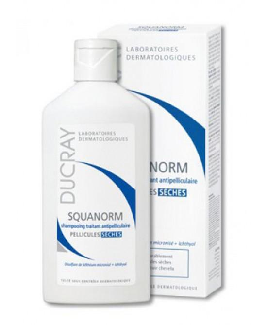 Squanorm Trattamento Forfora Secca Shampoo 200 ml Ducray - Farmastar.it