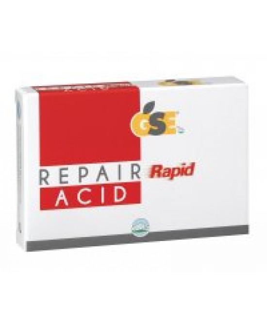 Gse Repair Rapid Acid Integratore Alimenatare 12 Compresse - Farmastar.it