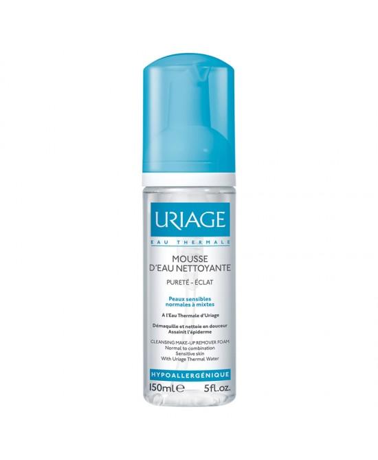 Uriage Mousse D'eau Nettoyante Schiuma Micellare Detergente Per Cute Normale O Mista Flacone 150ml - La farmacia digitale