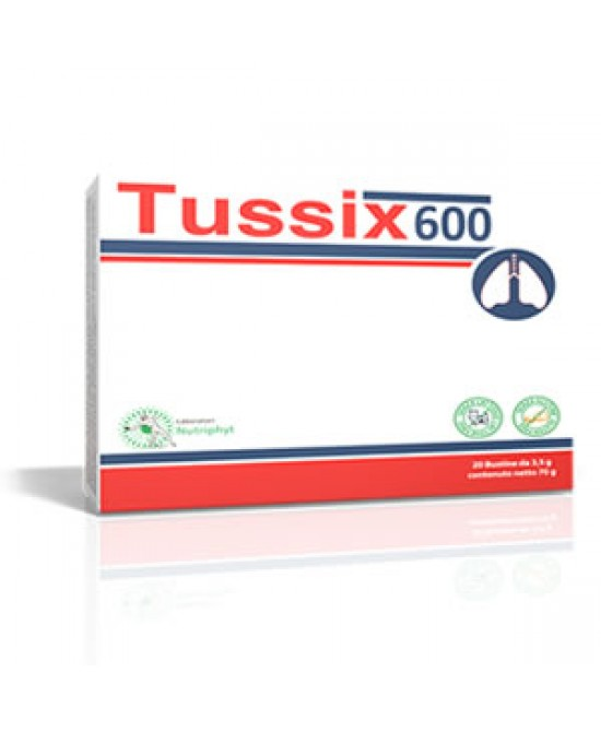 TUSSIX 600 20 BUSTINE - Farmafamily.it